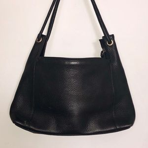 Valerie Stevens Leather Shoulder Bag